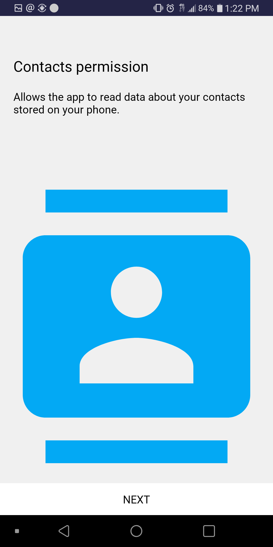 callthru android contacts access.png