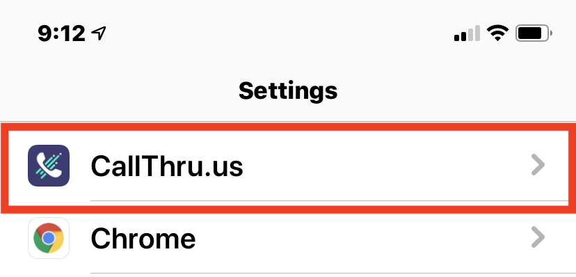 CallThru app in iOS settings.PNG