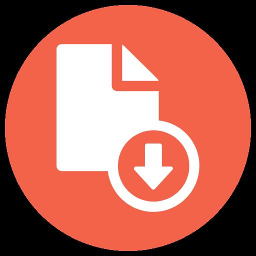 Download icon orange 2941913.png